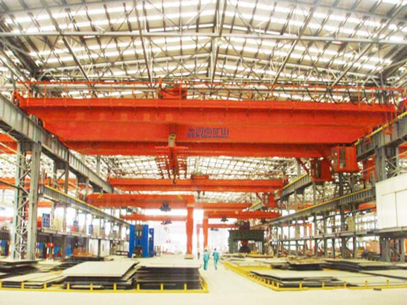 电磁挂梁桥式qizhong机